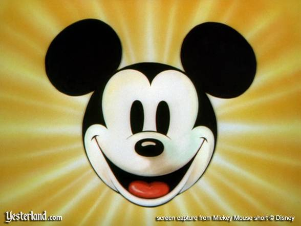 Mickey Mouse cartoon opening screen capture