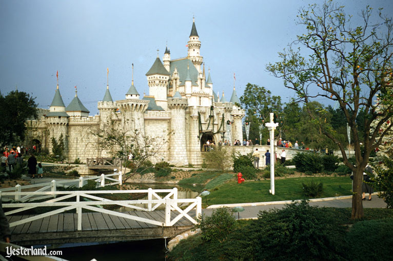 Disneyland Then & Now, vintage photo