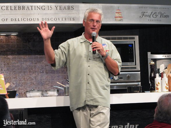 John Ekin, Epcot Food and Wine Festival, 2010
