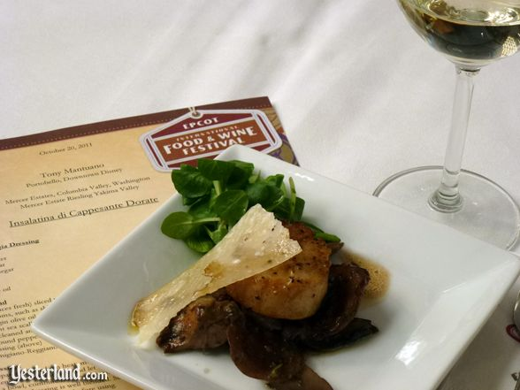 Culinary demo, Epcot Food and Wine Festival, 2011
