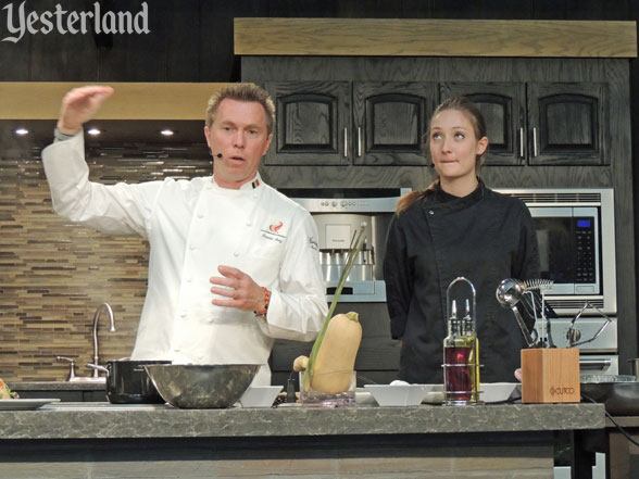 Culinary demo, Epcot Food and Wine Festival, 2016