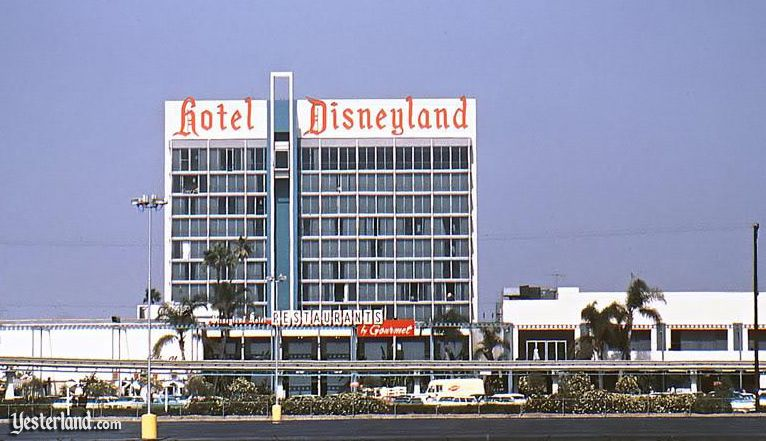 Elevation of the first Tower at Disneyland Hotel