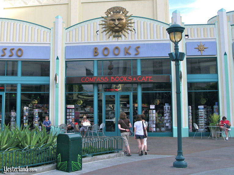 Compass Books at Downtown Disney, Disneyland Resort