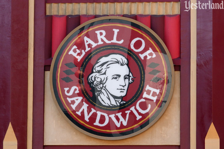 Earl of Sandwich at the Disneyland Resort