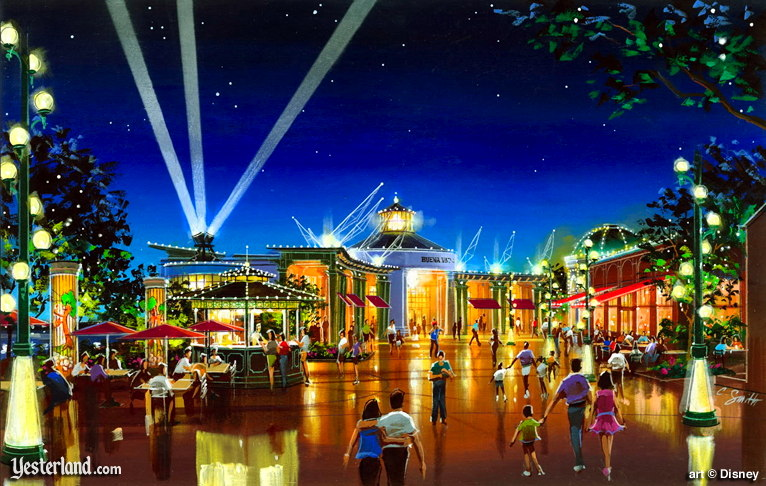 Disney's Pleasure Island and Hyperion Wharf