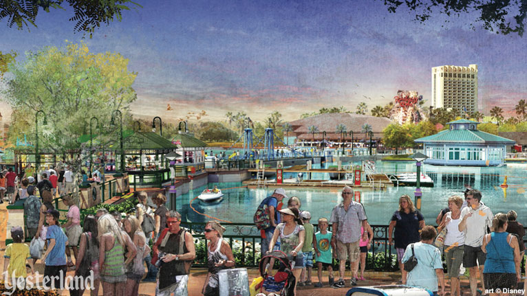 Disney Springs concept artwork