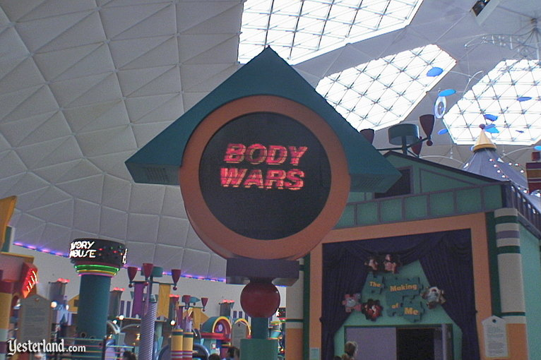 Body Wars at Epcot