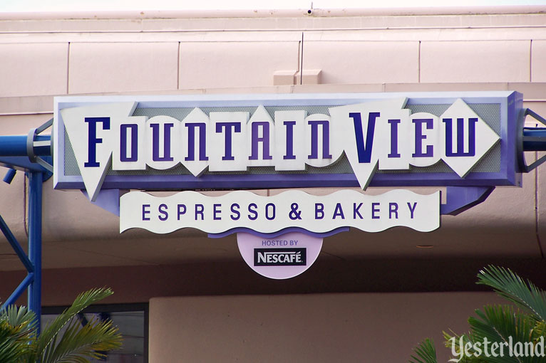 Fountain View Espresso & Bakery at Epcot