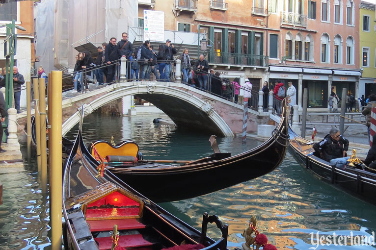 Comparing Venice at Epcot and Venice in Italy