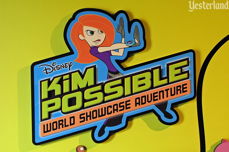 Kim Possible World Showcase Adventure at Epcot