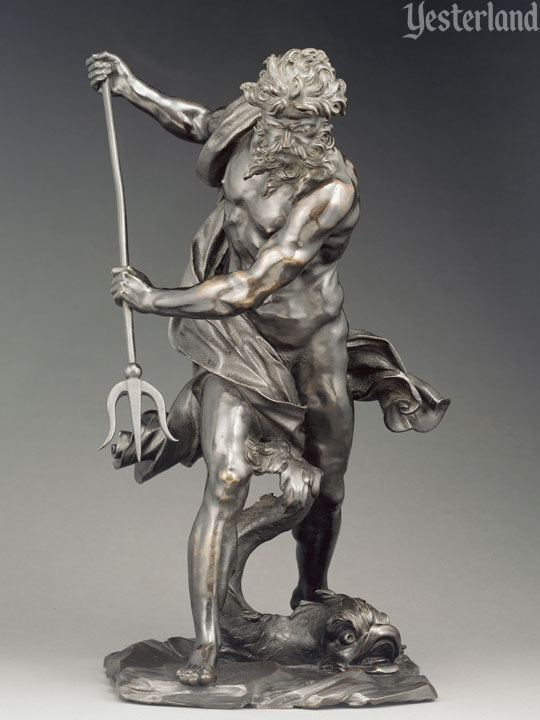 Neptune with Dolphin, after Bernini