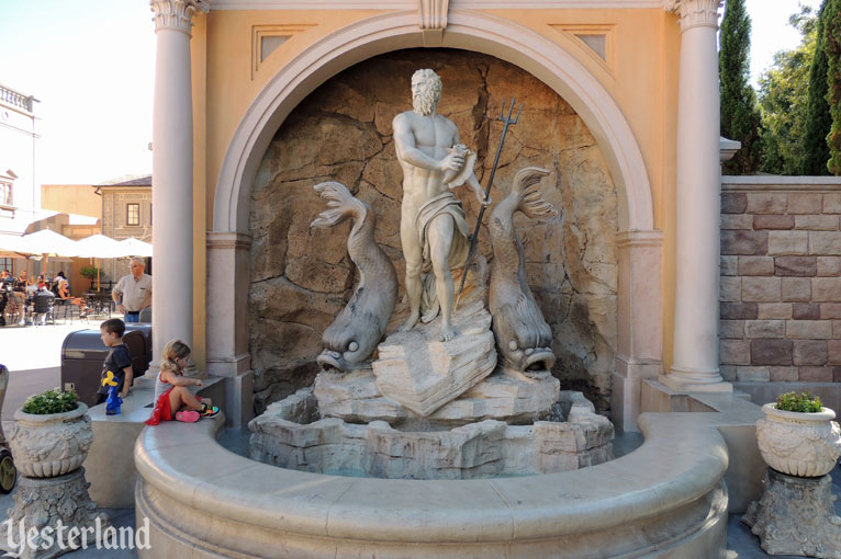 Neptune at Epcot and his Relatives in Rome