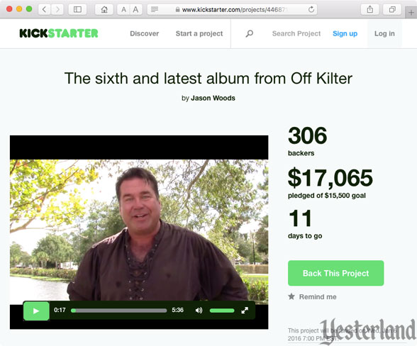 Kickstarter for Off Kilter