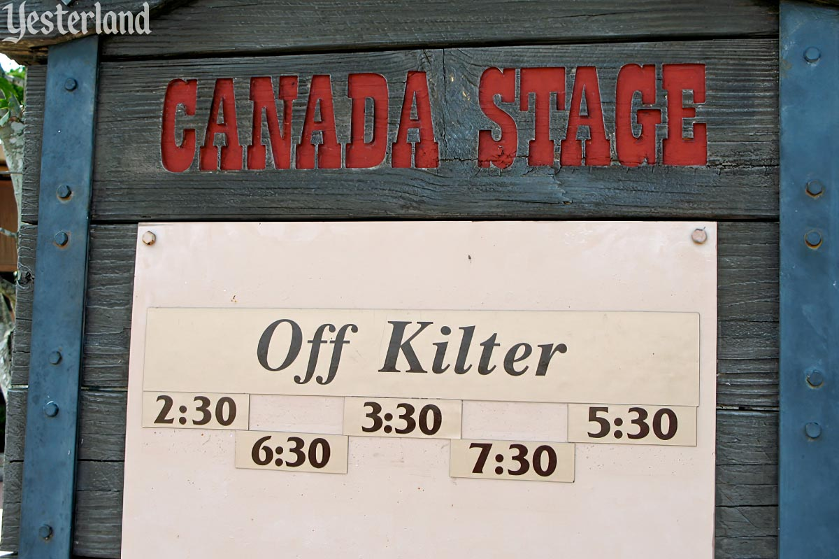 Off Kilter at Epcot