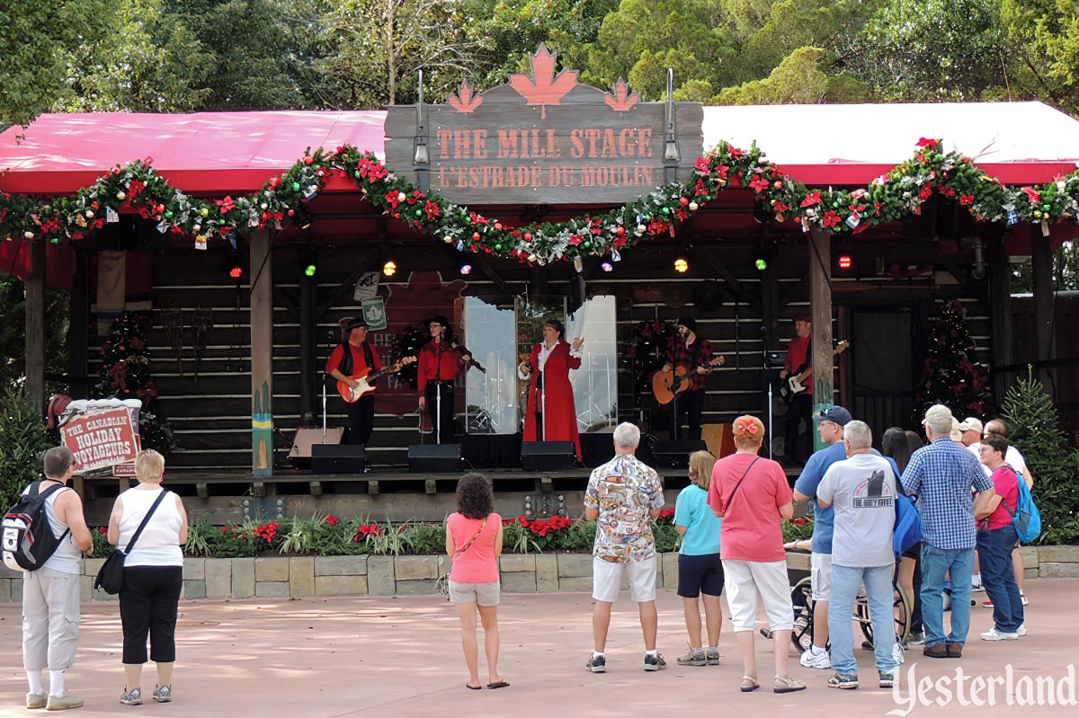 Canadian Voyageurs, part of Holidays Around the World and Epcot