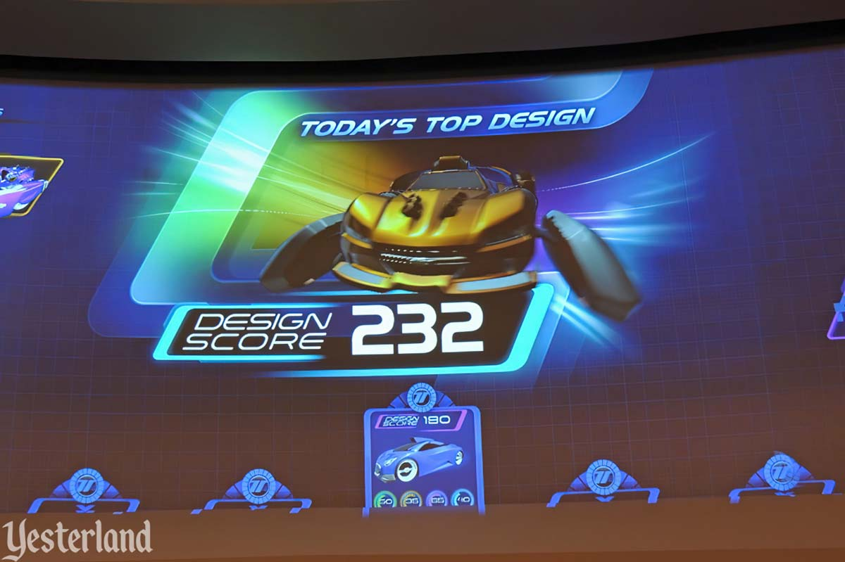 New Test Track At Epcot Top Design Score