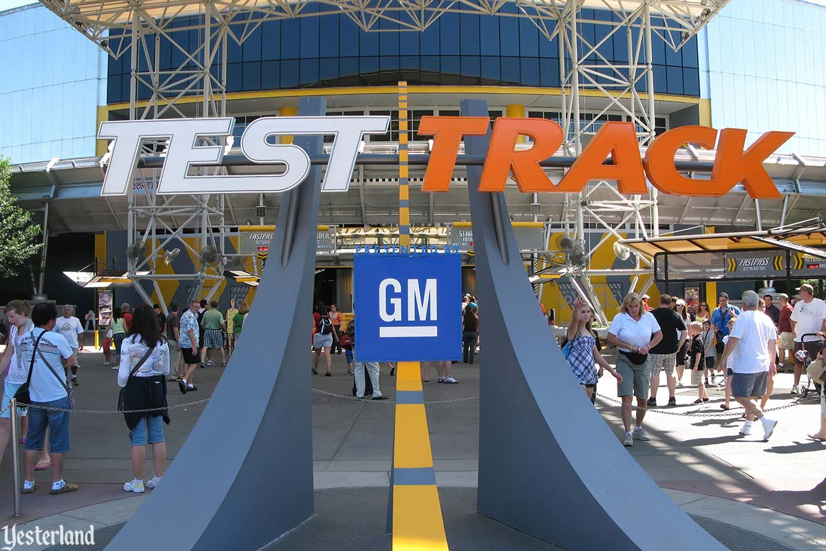 The original Test Track at Epcot