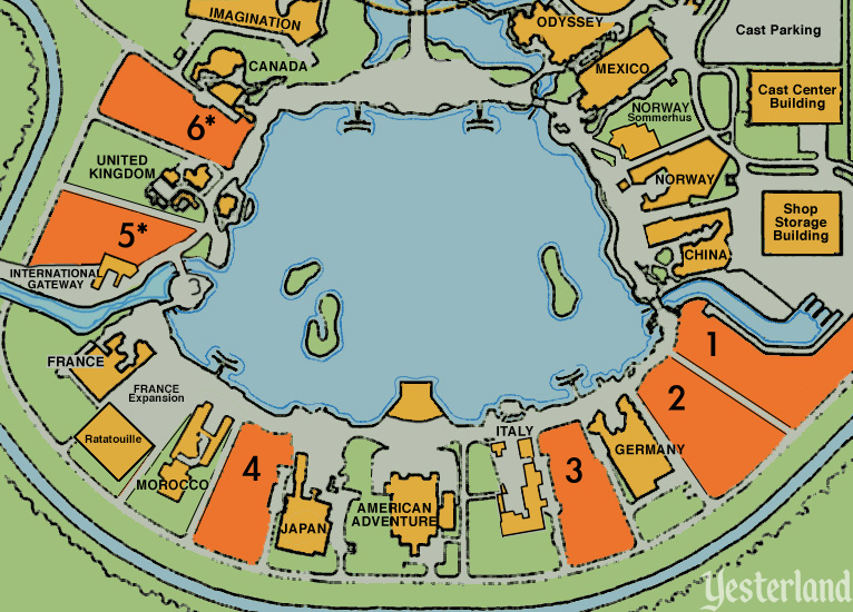 Epcot World Showcase Map Yesterland: Two Myths about World Showcase at Epcot