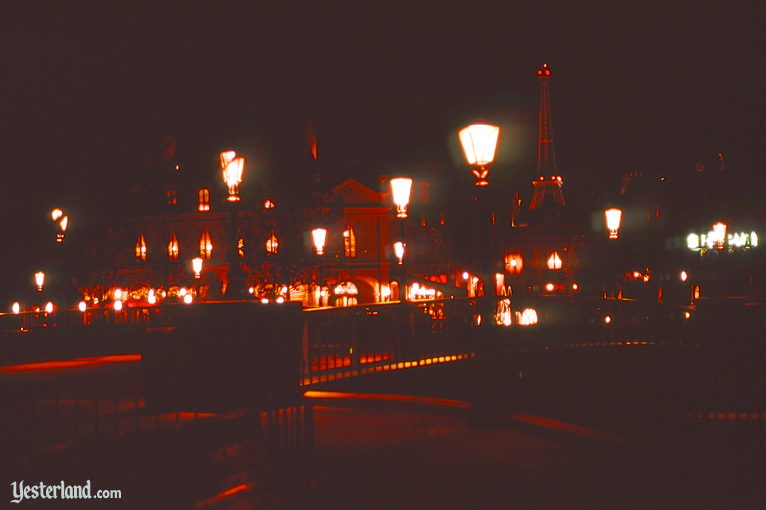 EPCOT Cneter World Showcase in January 1983