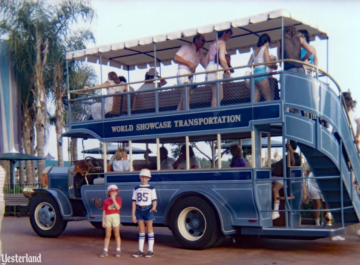 World Showcase Buses at Yesterland