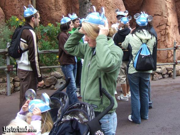 "Guests dutifully don their ""Ears"" of a Million Dreams"