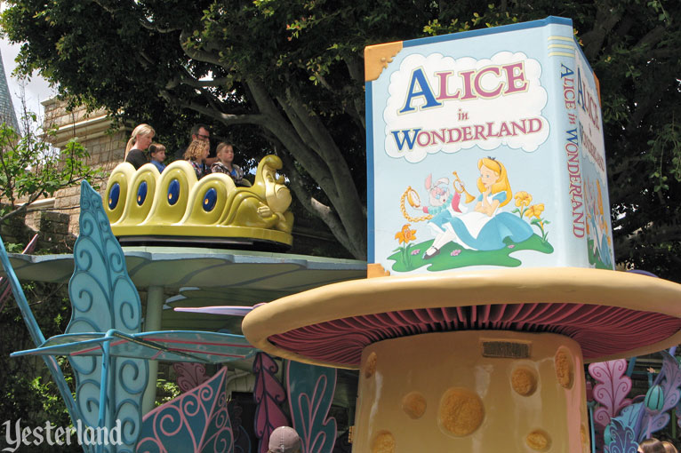 Alice in Wonderland at Disneyland