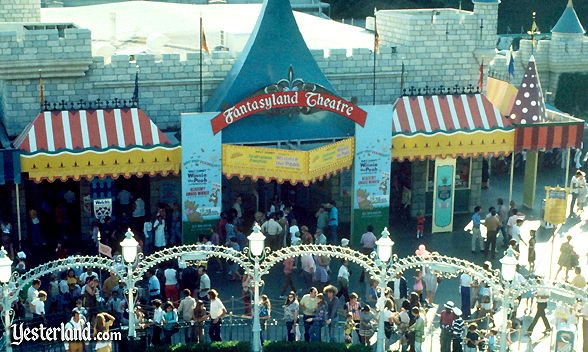 Photo of the Fantasyland Theater