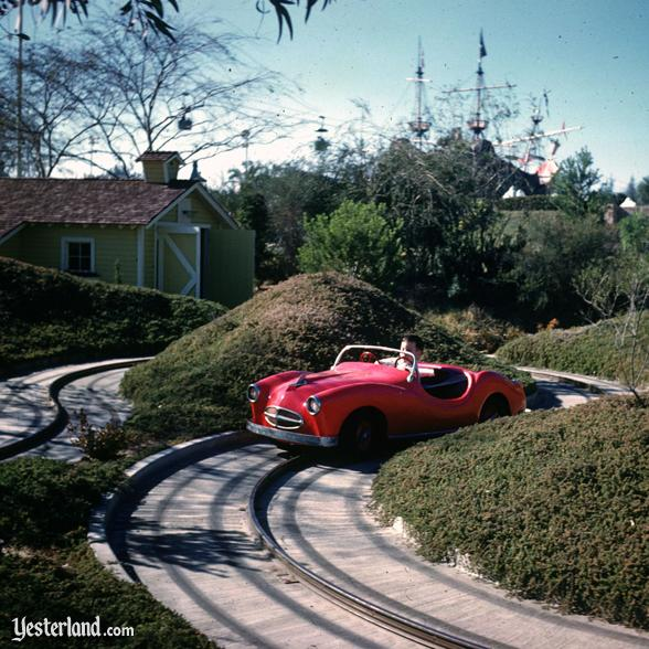 Photo of Midget Autopia at Disneyland