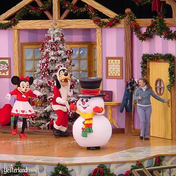 Photo of Minnie's Christmas Party at Disneyland, 2001