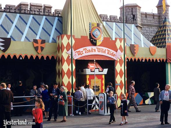 Mr. Toad's Wild Ride in 1956
