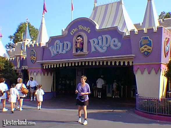 Mr. Toad's Wild Ride at Magic Kingdom Park in Florida