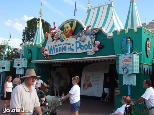 'The Many Adventures of Winnie the Pooh' at Magic Kingdom Park in Florida