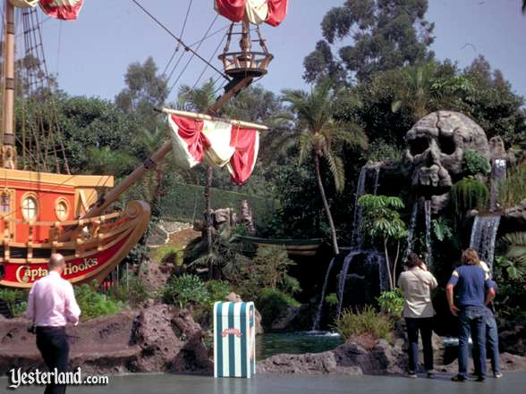 Photo of Captain Hook's Pirate Ship and Skull Rock