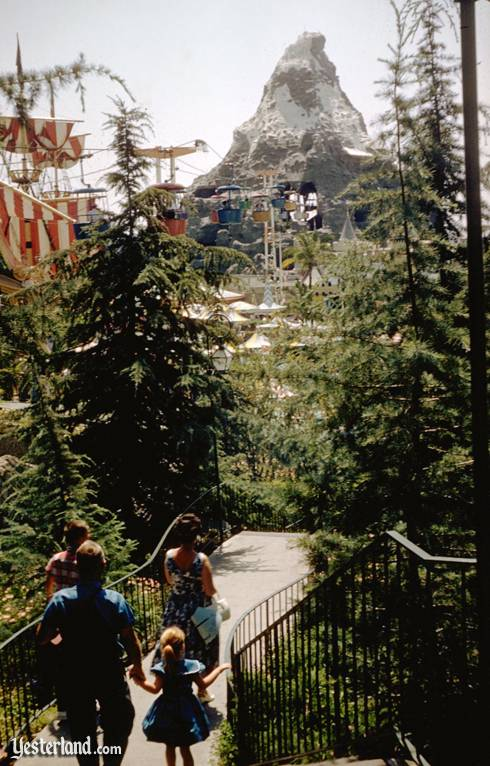 Skyway to Tomorrowland at Disneyland