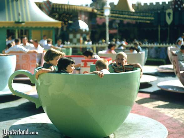 Photo of Mad Tea Party with children in green cup