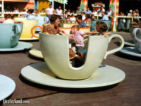 Photo of Mad Tea Party with yellow cup