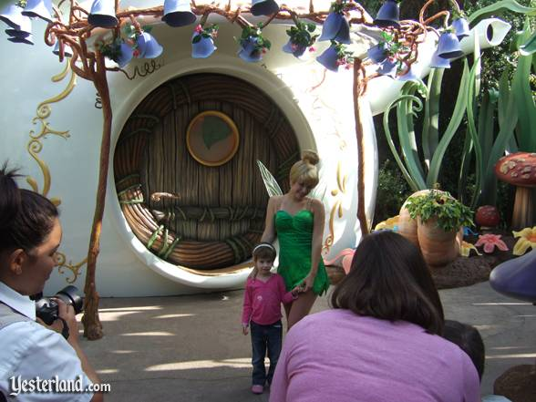 Tinker Bell meet-and-greet at Pixie Hollow, Disneyland: 2008, by Allen Huffman