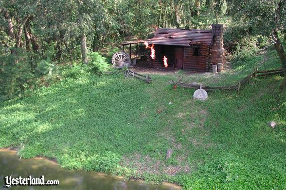 Photo Of Burning Settleru0027s Cabin At Walt Disney World