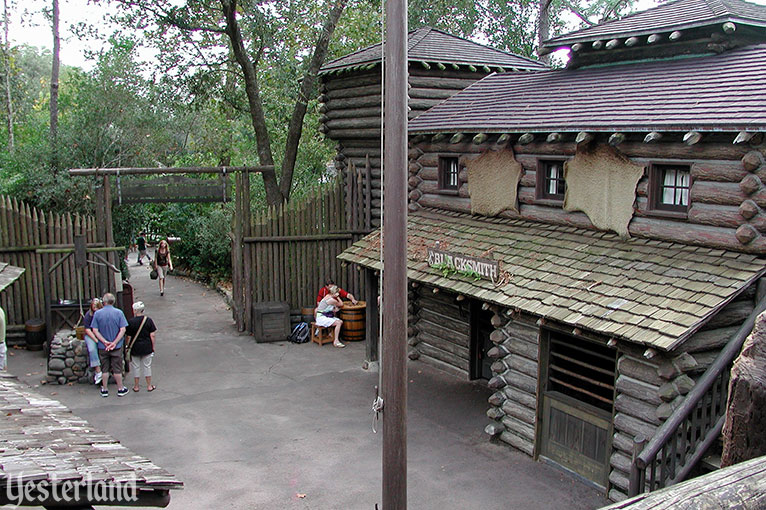 Fort Langhorn on Tom Swayer Island at Magic Kingdom Park, Walt Disney World