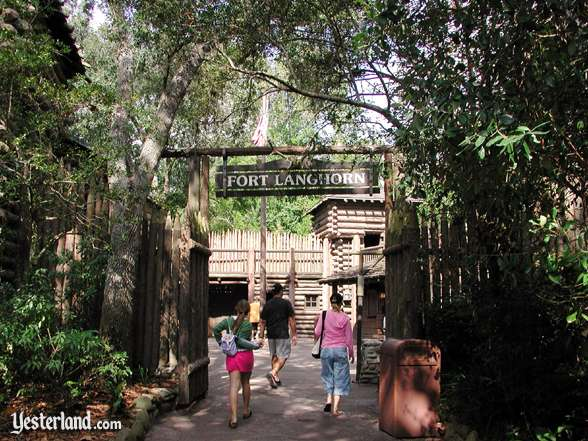 Photo of Fort Langhorn entrance at the Magic Kingdom