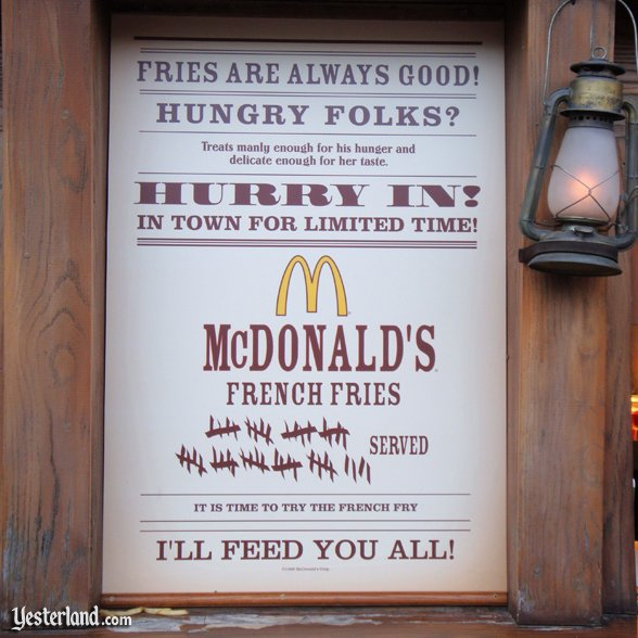 McDonald's at Disneyland