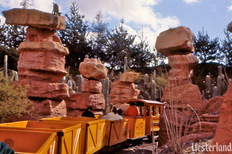 Mine Train Through Nature's Wonderland at Disneyland