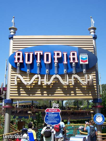 TAutopia, presented by Chevron, at Disneyland