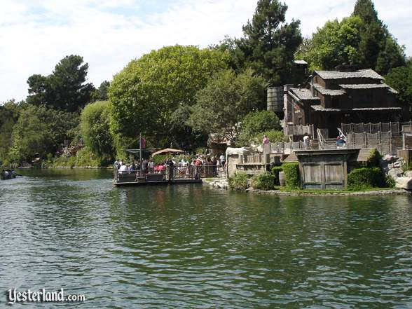 Rivers of America at Disneyland