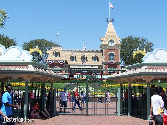 Main Street Station at Disneyland