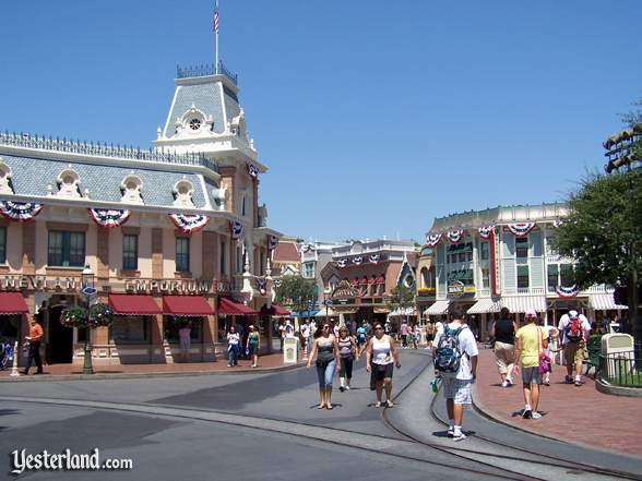 Town Square at Disneyland