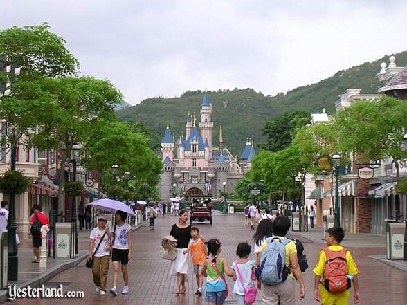 Sleeping Beauty Castle at Hong Kong Disneyland