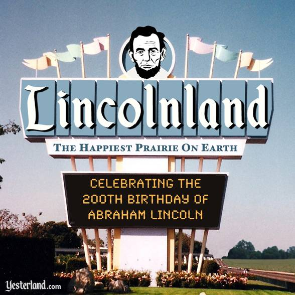 Lincolnland sign (Photoshopped)