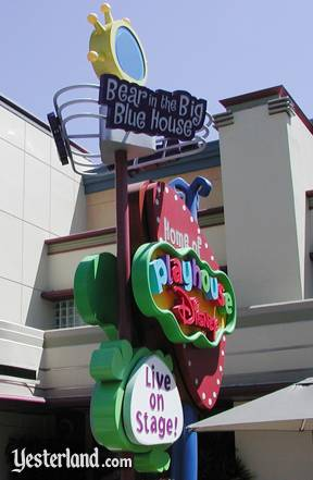 Playhouse Disney sign