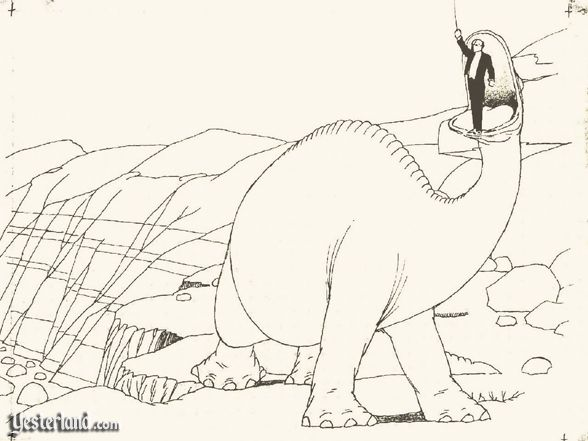 Inspiration: Gertie the Dinosuar (1914)
